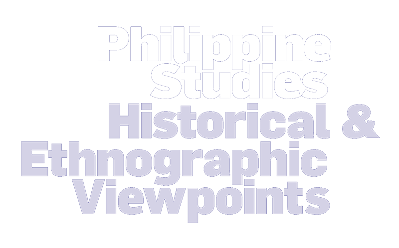 Philippine Studies: Historical and Ethnographic Viewpoints Logo